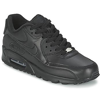 Obuća Muškarci  Niske tenisice Nike AIR MAX 90 LEATHER Crna