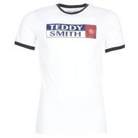 Odjeća Muškarci  Majice kratkih rukava Teddy Smith TOZO Bijela