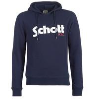 Odjeća Muškarci  Sportske majice Schott HOOD Blue