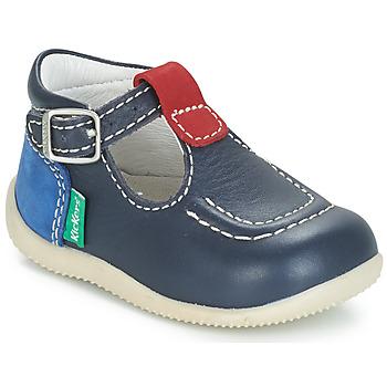 Obuća Djeca Balerinke i Mary Jane cipele Kickers BONBEK Blue