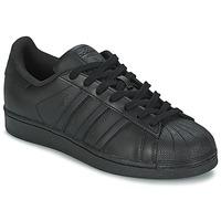 Obuća Muškarci  Niske tenisice adidas Originals SUPERSTAR FOUNDATIO Crna