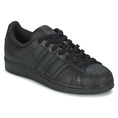 Obuća Niske tenisice adidas Originals SUPERSTAR FOUNDATIO Crna