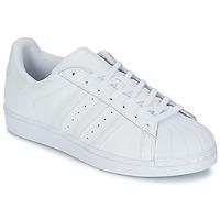 Obuća Niske tenisice adidas Originals SUPERSTAR FOUNDATIO Bijela