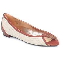 Obuća Žene  Balerinke i Mary Jane cipele Azzaro JOUR Bež / Camel