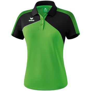 Odjeća Žene  Polo majice kratkih rukava Erima Polo femme  Premium One 2.0 vert/noir/blanc