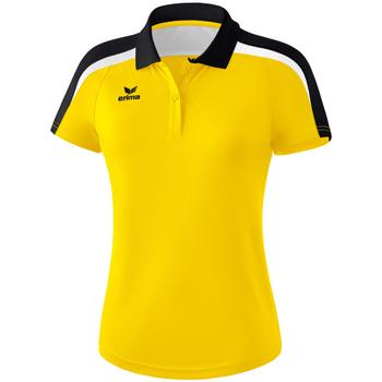 Odjeća Žene  Polo majice kratkih rukava Erima Polo femme  Liga 2.0 jaune/noir/blanc