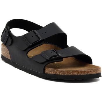 Obuća Sandale i polusandale Birkenstock MILANO BLACK CALZ S Multicolore