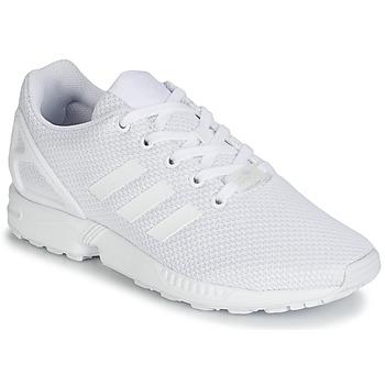 Obuća Djeca Niske tenisice adidas Originals ZX FLUX J Bijela