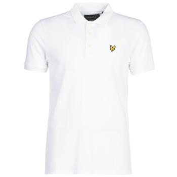 Odjeća Muškarci  Polo majice kratkih rukava Lyle & Scott FAFARLIPE Bijela