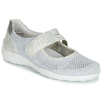 Obuća Žene  Balerinke i Mary Jane cipele Remonte Dorndorf HUIJI Srebrna