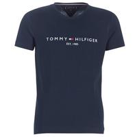 Odjeća Muškarci  Majice kratkih rukava Tommy Hilfiger TOMMY FLAG HILFIGER TEE Blue