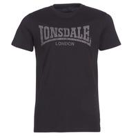 Odjeća Muškarci  Majice kratkih rukava Lonsdale LOGO KAI Crna