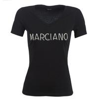 Odjeća Žene  Majice kratkih rukava Marciano LOGO PATCH CRYSTAL Crna