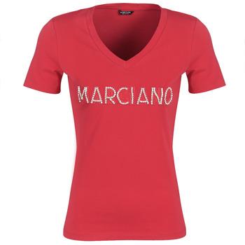 Odjeća Žene  Majice kratkih rukava Marciano LOGO PATCH CRYSTAL Red