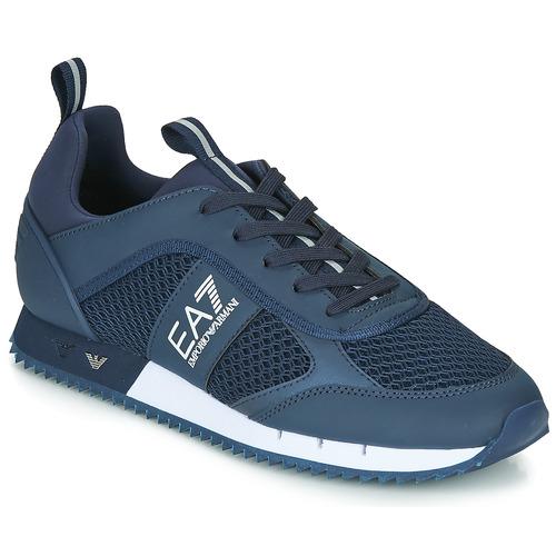 Obuća Muškarci  Niske tenisice Emporio Armani EA7 BLACK&WHITE LACES U Blue