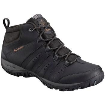 Obuća Muškarci  Pješaćenje i planinarenje Columbia Woodburn II Chukka Waterproof Crna