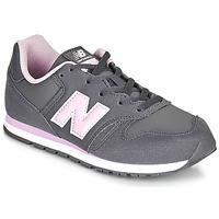 Obuća Djevojčica Niske tenisice New Balance 373 Siva / Ružičasta