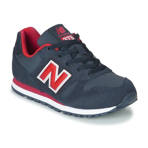 Obuća Djeca Niske tenisice New Balance 373 Blue / Red