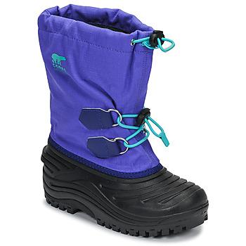 Obuća Djeca Čizme za snijeg Sorel YOUTH SUPER TROOPER Blue