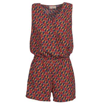 Odjeća Žene  Kombinezoni i tregerice Moony Mood KETTELLE Red / Multicolour