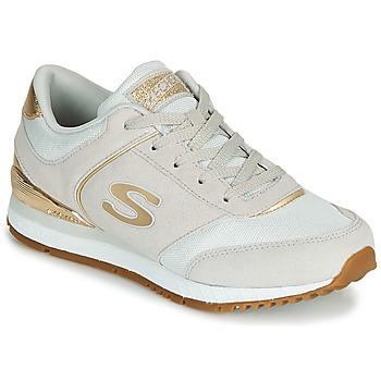 Obuća Žene  Niske tenisice Skechers SUNLITE Siva / Gold