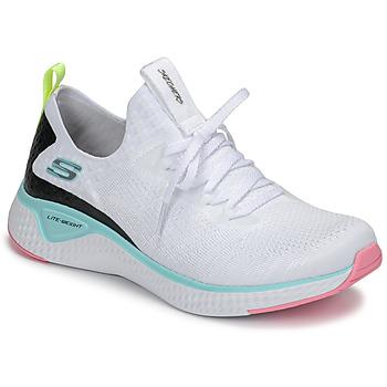 Obuća Žene  Fitness i trening Skechers FLEX APPEAL 3.0 Bijela / Ružičasta / Blue
