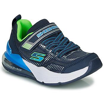 Obuća Dječak  Niske tenisice Skechers SKECHERS BOY Blue / Zelena