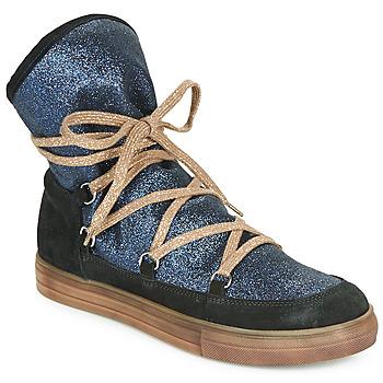 Obuća Djevojčica Čizme za grad Achile ANGELA Blue / Crna