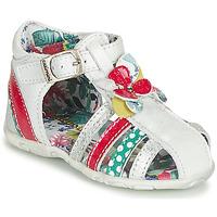 Obuća Djevojčica Sandale i polusandale Catimini PERSAN Bijela / Multicolour