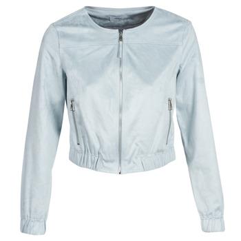 Odjeća Žene  Kožne i sintetičke jakne Only ONLLEONA Blue