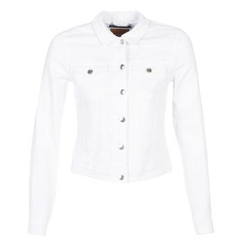 Odjeća Žene  Traper jakne Only ONLTIA Bijela