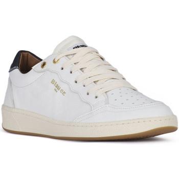 Obuća Muškarci  Niske tenisice Blauer MURRAY 01 WHITE Bianco
