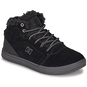 Obuća Djeca Visoke tenisice DC Shoes CRISIS HIGH WNT Crna