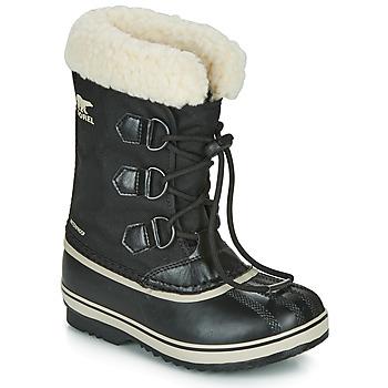 Obuća Djeca Čizme za snijeg Sorel YOOT PAC NYLON Crna