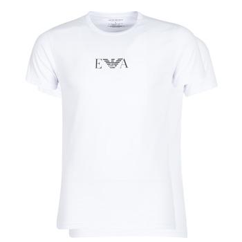 Odjeća Muškarci  Majice kratkih rukava Emporio Armani CC715-111267-04712 Bijela