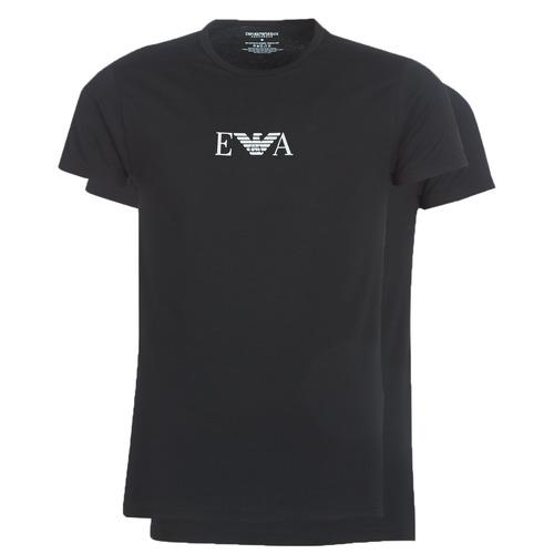Odjeća Muškarci  Majice kratkih rukava Emporio Armani CC715-111267-07320 Crna