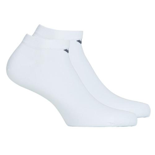 Modni dodaci Muškarci  Čarape Emporio Armani CC134-300008-00010 Bijela