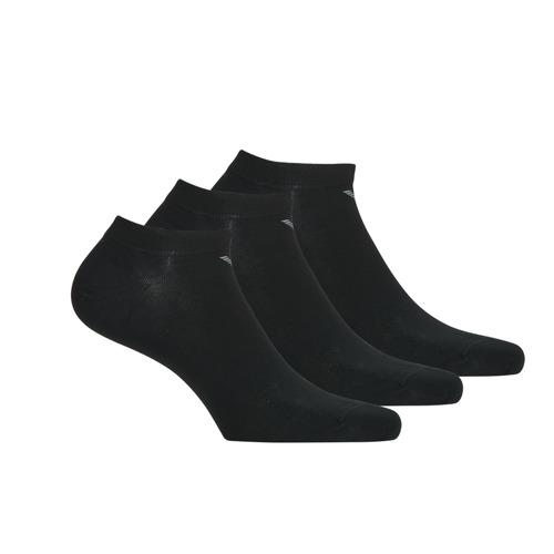 Modni dodaci Muškarci  Čarape Emporio Armani CC134-300008-00020 Crna