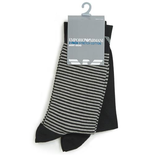 Modni dodaci Muškarci  Čarape Emporio Armani CC114-302302-00020 Crna
