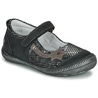 Obuća Djevojčica Balerinke i Mary Jane cipele GBB NYOKO Crna / Srebrna