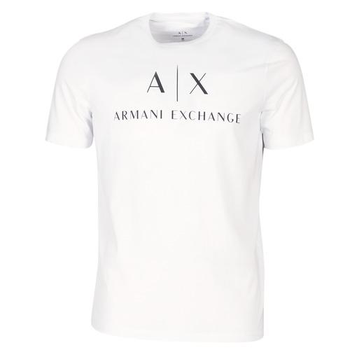 Odjeća Muškarci  Majice kratkih rukava Armani Exchange 8NZTCJ-Z8H4Z-1100 Bijela