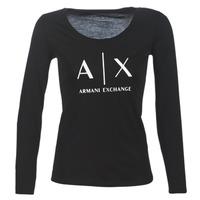 Odjeća Žene  Majice dugih rukava Armani Exchange 8NYTDG-YJ16Z-1200 Crna