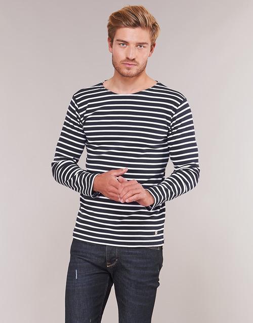 Odjeća Muškarci  Majice dugih rukava Armor Lux VERMO Bijela