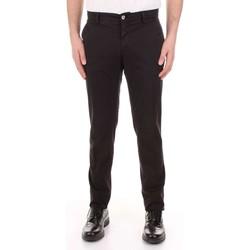 Odjeća Muškarci  Hlače s pet džepova Mason's MILANO-CBE024 Nero