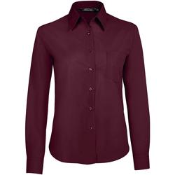 Odjeća Žene  Košulje i bluze Sols EXECUTIVE POPELIN WORK violeta