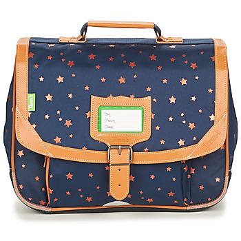 Torbe Djevojčica Školske torbe Tann's ETOILE MARINE CARTABLE 35 CM Blue