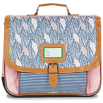 Torbe Djevojčica Školske torbe Tann's CREATION FLORE CARTABLE 38 CM Ružičasta