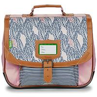 Torbe Djevojčica Školske torbe Tann's CREATION FLORE CARTABLE 35 CM Ružičasta