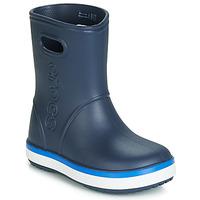 Obuća Djeca Gumene čizme Crocs CROCBAND RAIN BOOT K Blue