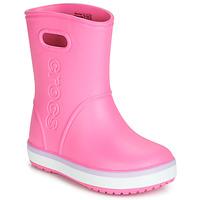 Obuća Djevojčica Gumene čizme Crocs CROCBAND RAIN BOOT K Ružičasta